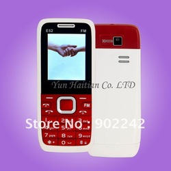 Dual Sim phone Hot Product E52 microsd low end mobile phone(China (Mainland))