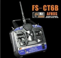F03104-A FlySKY FS 6CH 2.4G FS-CT6B RC Transmitter 6 channel (No receiver) for Heli/Airplane/Glid/Copter +Freeship