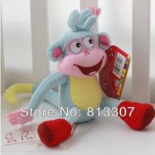 "Free ship BOOTS 1 Piece10"" Dora the Explorer The Monkey Plush Dolls Soft Toy Dora Doll Plush Best Kids Gift(China (Mainland))"