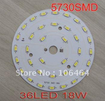 36LED 18W Magnetic Led Panel Light Round LED Panel 5730SMD, AC85-265V 100-110LM/W warm white/cold white