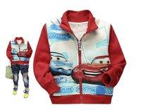 6pcs/lot Hot selling now !! Children cartoon jacket for autumn kids boys/girls cute coat infant cotton clothes wholesale