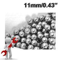 """1kg (about 160pcs) 11mm (0.433"""") Steel Balls for Bearing or Slingshot"""
