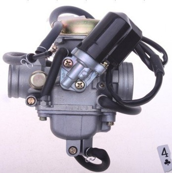 Motorcycle ATV carburetor KF (PD24JL) -001, for of GY6-125CC-150CC used, aluminum alloy