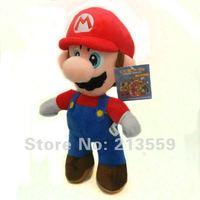 "Free Shipping New Super Mario Bros. Stand MARIO Plush Doll Stuffed Toy 8.5"" Retail"