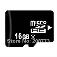 10pcs/lot Real 16GB Micro SD card Class 4 High Quality OEM TF Memory Card+Adapter+Plastic Box+Free Shipping+Gifts
