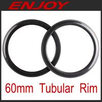Full carbon road 60mm tubular rims