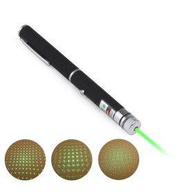 10mw 532nm Green Laser pointer / 2 in 1 green beam laser pen / Green patterns+Gift box + Free shipping + 5pcs/lot(China (Mainland))