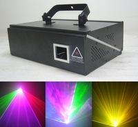 1000mW RGB Full Color Animation  Laser light 1W DMX Stage Lighting for DJ Party Fast Shipping