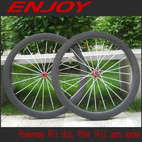 700C carbon wheelsets 50mm tubular for raod bike, Model PA-50T-CP