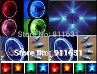 Hot Sale Car Wheels Lights Motor Lights Bike  Lamp White 3 Electronic Blue/Red/Green Color Transform Light Car LED