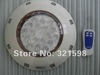 54W PC rgb led swimming pool light with remote