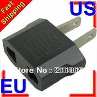 Free shipping 20pcs EU to US USA Power Plug Adapter Travel Converter Travel Charger