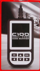 HOT!C100 Auto Scan OBDII/EOBD Code Reader
