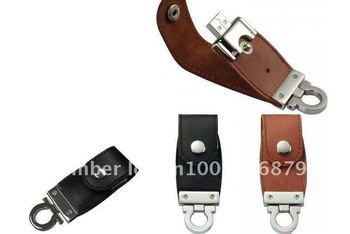 Logo printing, 2GB/4GB/8GB/16GB/32GB, Promotion gift leather usb pendrive, Custom leather USB flash drive