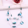 Min order for 20dollars (mixed order) popular Polycyclic necklace  free delivery Simple and fashion style