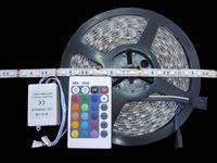Best selling!!RGB 5M Waterproof 5050 SMD Flexible 300 LED Strips Light 24 Key IR Remote!