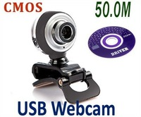 USB 2.0 50.0M PC Camera HD Webcam Camera Web Cam with MIC for Computer Laptop FREE SHIPPING