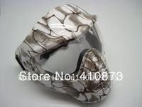 paintball Anti-fog  white snake Mask