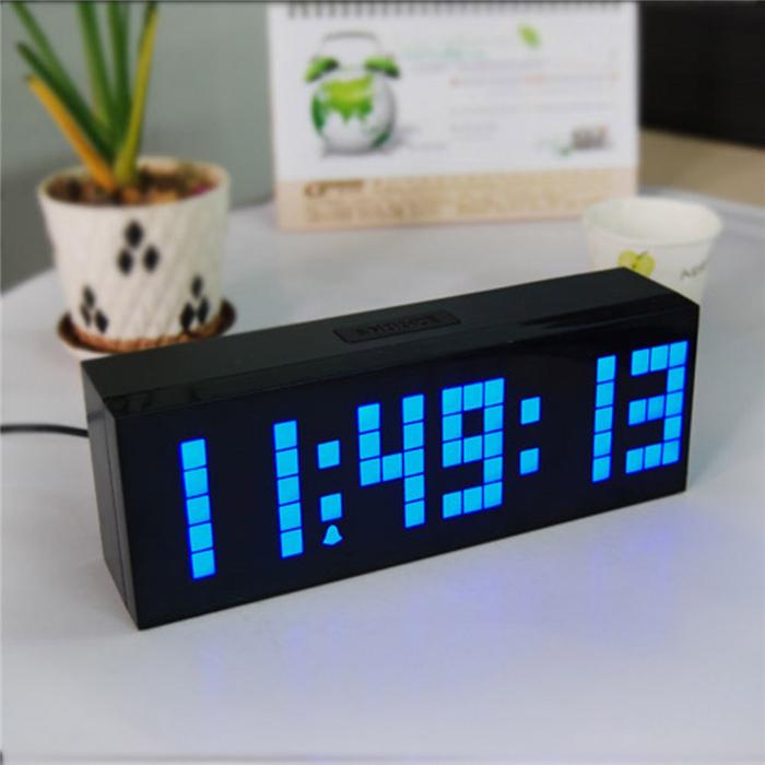 backlight big number led bedroom alarm clock decoration
