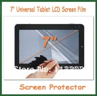 10pcs 7 inch Universal Clear LCD Screen Protector Protective Film NOT Full-Screen Size 155x92mm for MID Tablet PC GPS PDA MP4