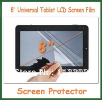 10pcs 8 inch Universal Clear LCD Screen Protector Protective Film Size 163x122mm NOT Full-Screen Film for PDA Tablet PC GPS MP5