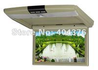 New design & Hot sale 10.2 inch Super slim Car Flip down/Roof mount Monitor+Wholesale/Retail