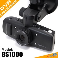 100% Original Latest Version GS1000 car dvr camcorder 1920*1080P 30FPS Car video recorder with GPS G-Sensor H.264 Free Shipping