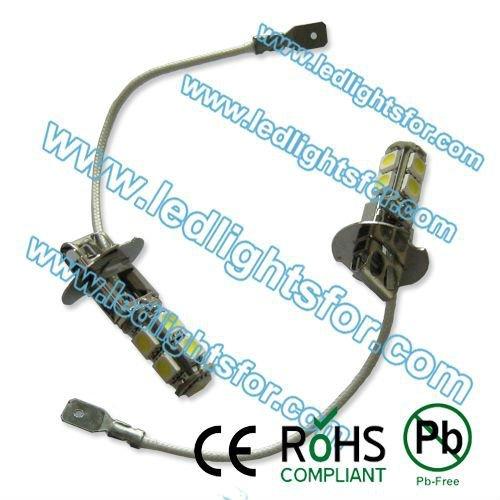 h3 car led lights 9 SMD5050,h3 car lights fog,car auto led 20pcs/lot high quality free shipping(China (Mainland))