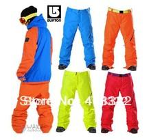 FREE SHIPPING,NEW ARRIVE!!! NEW DESIGN Men Burton AK2P1  Snowboarding Pant,ski pant+ M-L-XL different color+skiing pant men(China (Mainland))