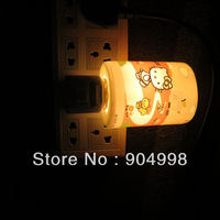 Hello Kitty Ceramic LED Night Light 4 different hello kitty designs sent at random 220V only Free Shipping