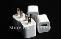 Free Shipping USB Wall Charger For ipod touch iPhone 3 4 4s