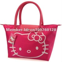 Hello Kitty Handbag Women's Bag Shower bag Waterproof Handbag Shipping Bag For Mami Folded Bag 4Colors 2410