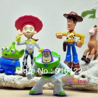 Free shipping wholesale classic Toy story  figure set (5 Pieces/set)