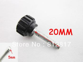 5MM Thread Diameter 20mm Thread Length Furniture Handel and Knob Knurled Knob 5pcs/lot Wholesale Price