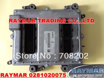 Engine control unit ECU 0281020075 for WEICHAI engine 612630080007