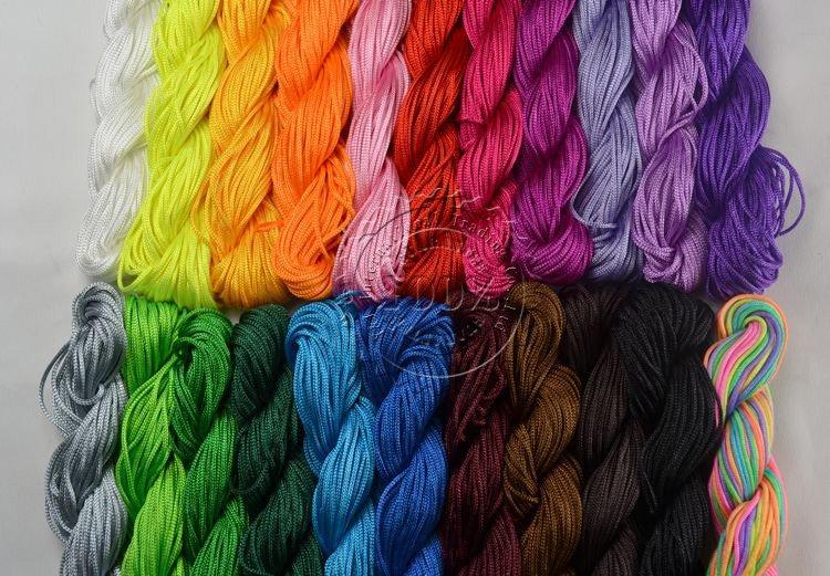 Шнур для вязания сумок 52