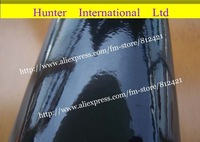 Hot Selling Air Free Bubble PVC Size 1.52*30m auto black glossy color change vinyl  film Free Shipping gv30m