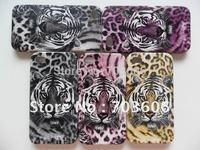 Tiger Pattern Hard Back Skin Case Cover for Apple iPhone 4 4G 4S 100pcs/lot