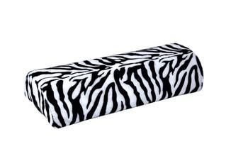 5pcs/Lot New Zebra Stripe Soft Hand Cushion Pillow Rest for Nail Art Manicure Half Column Free Shipping 4905
