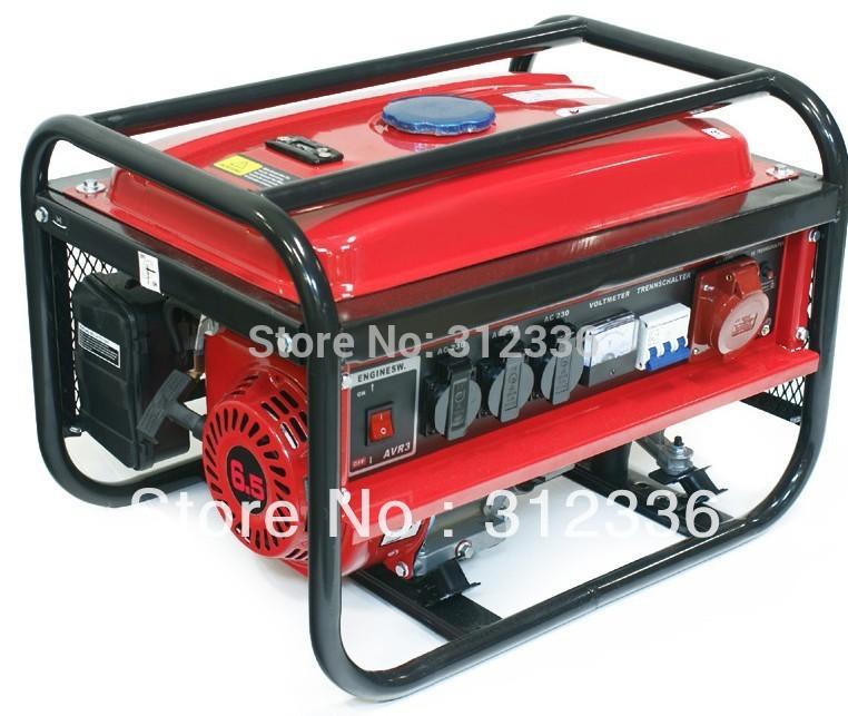 free shipping portable generator 3500-3 2.5kw 168 GX240 Recoil starting OHV 6.5hp three phase 380V 220V(China (Mainland))