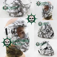 Anti-fog Mask /Airsoft paintball Full Mask White camouflage(HU-Mask-CG)