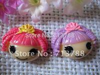 flat back resin LALALOOPSY GIRL for phone decoration 12pcs/lot