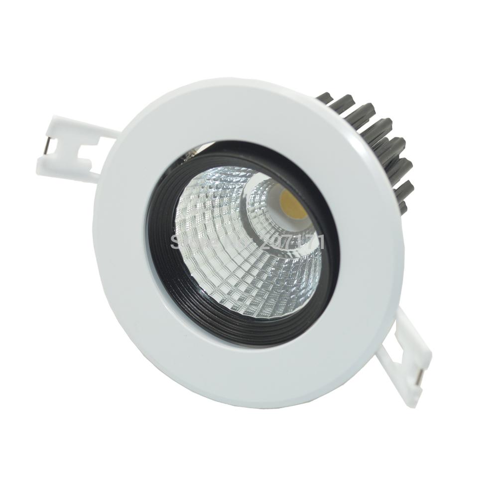 Deya COB led downlight 10W Adjustable AC85-265V Epistar led chip downlight kit 2pcs/lots(China (Mainland))