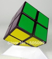 Free shipping LanLan Black or whtie 2x2 magic cube; LanLan 2x2 puzzle