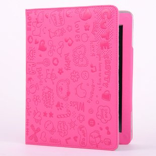 Leather Case with Smart Cover for Apple ipad 2 3  4 Magnetic PU Leather Case Stand Case for iPad 2 3 Free Shipping