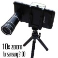 10X Optical Zoom Telescope Camera Lens + Tripod For Samsung i9100 Galaxy S2 II i9100