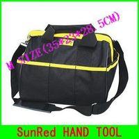 SunRed BESTIR taiwan original brand new middle SIZE:35*23*28.5cm oxford PVC shoulder message hand tool bag,NO.05132 freeship