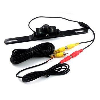 Car Color Backup Camera Night Vision Video Rear View Reversing License Plate