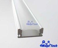 DHL/FEDEX/EMS Free shipping-LED bar light  housing, strip light aluminium housing, SMD light PCB metal covering