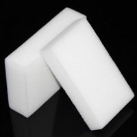 Cheap 10Pcs/ lot Magic Sponge Eraser Melamine Cleaning Multi-functional Sponge White 20*60*100mm Freeshipping